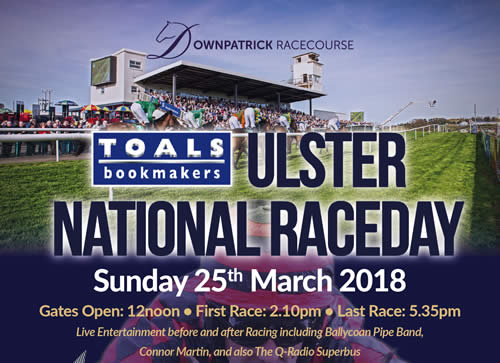 """Toals Bookmakers Ulster National"" Raceday"